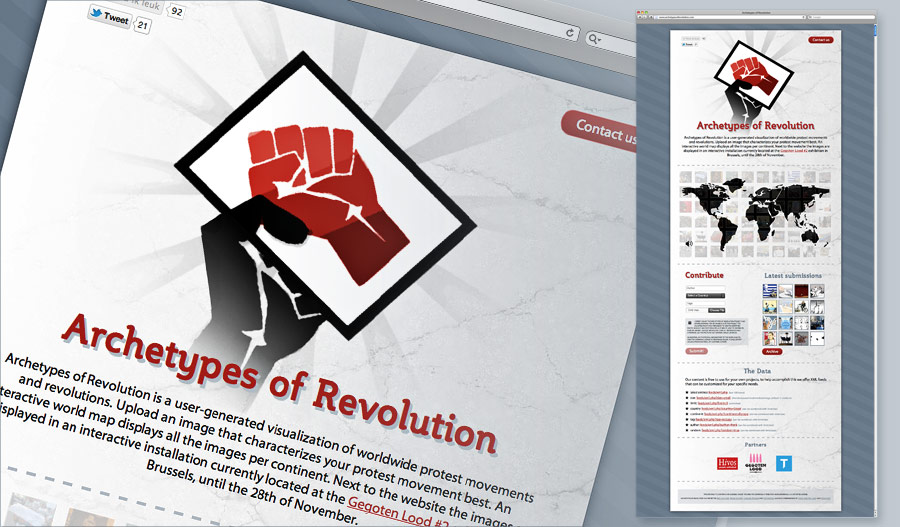 archetypes of revolution website