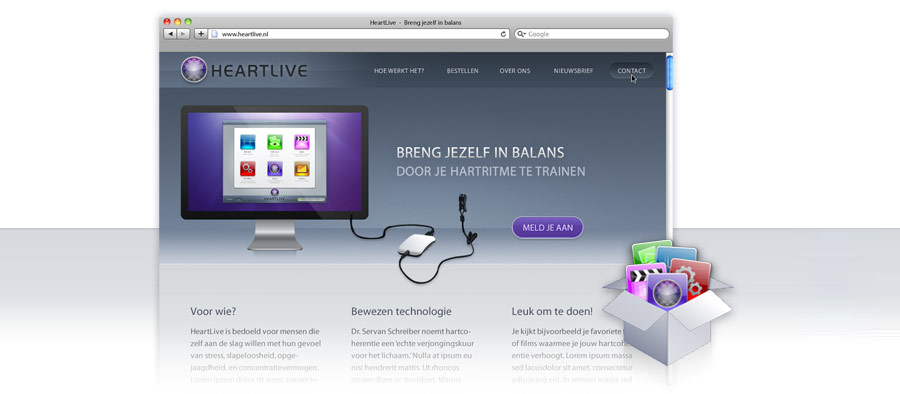 Heartlive Website