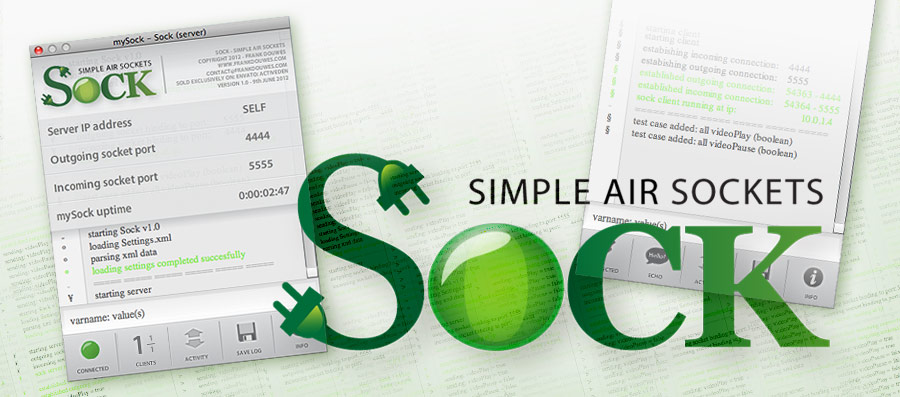 Sock - Simple AIR Sockets