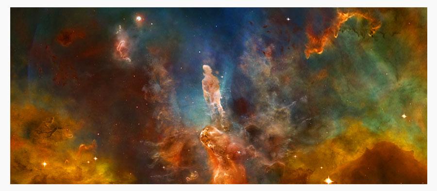 stefan heeft een ster gevangen nebula